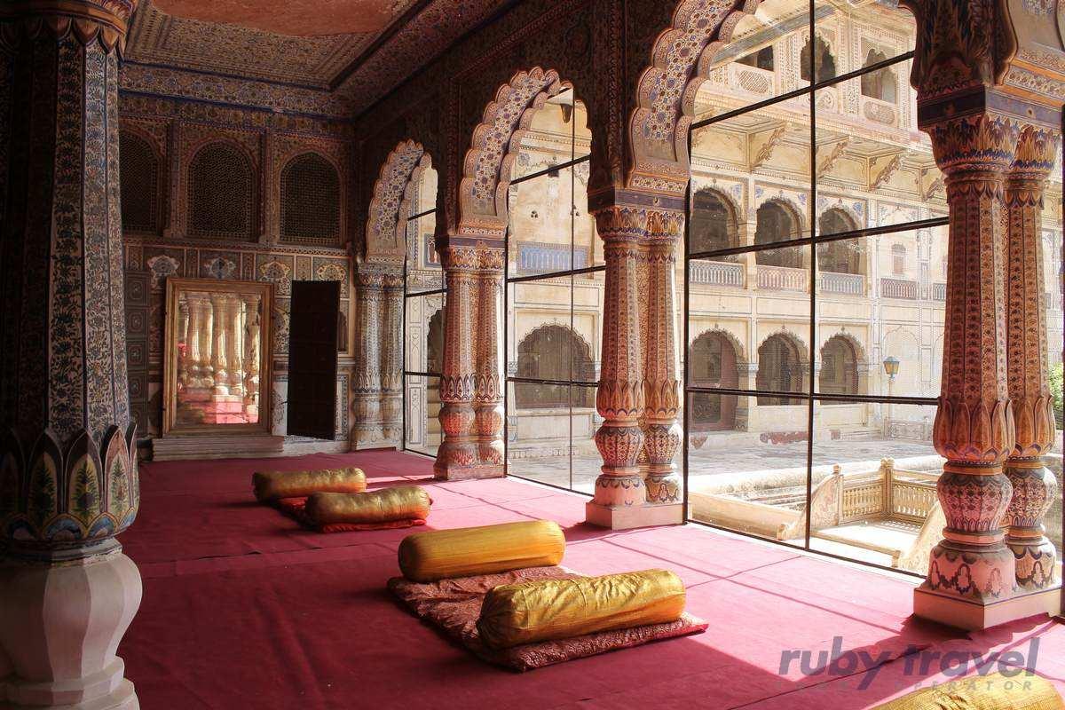 India nord triangolo d oro lusso ruby travel viaggi for Case lussuose interni