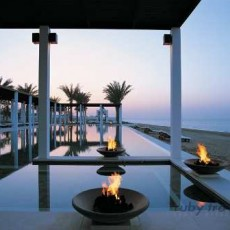OMAN BEACH & SPA • The Chedi   viaggio ruby group oman luxury experience beach spa